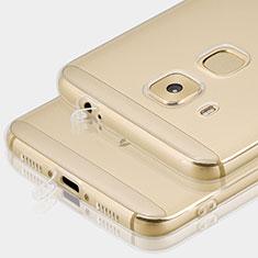 Huawei G9 Plus用極薄ソフトケース シリコンケース 耐衝撃 全面保護 クリア透明 T01 ファーウェイ クリア