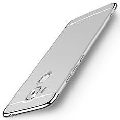 Huawei G9 Plus用ケース 高級感 手触り良い アルミメタル 製の金属製 ファーウェイ シルバー