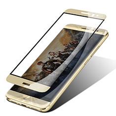 Huawei G9 Plus用強化ガラス フル液晶保護フィルム F05 ファーウェイ ゴールド