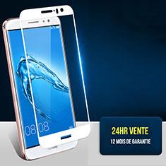 Huawei G9 Plus用強化ガラス フル液晶保護フィルム F06 ファーウェイ ホワイト