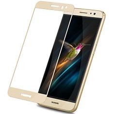 Huawei G9 Plus用強化ガラス フル液晶保護フィルム F02 ファーウェイ ゴールド