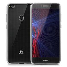 Huawei GR3 (2017)用極薄ソフトケース シリコンケース 耐衝撃 全面保護 クリア透明 T02 ファーウェイ クリア