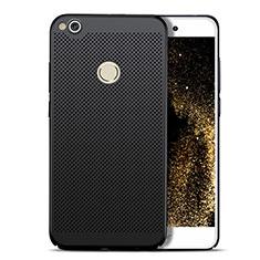 Huawei GR3 (2017)用ハードケース プラスチック メッシュ デザイン ファーウェイ ブラック