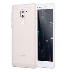 Huawei GR5 (2017)用極薄ソフトケース シリコンケース 耐衝撃 全面保護 S02 ファーウェイ ホワイト