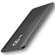 Huawei GR5 (2017)用極薄ソフトケース シリコンケース 耐衝撃 全面保護 ファーウェイ ブラック