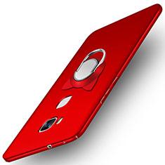 Huawei GR5用ハードケース プラスチック 質感もマット M04 ファーウェイ レッド