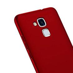 Huawei GT3用ハードケース プラスチック 質感もマット ファーウェイ レッド