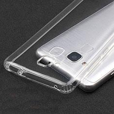 Huawei GT3用極薄ソフトケース シリコンケース 耐衝撃 全面保護 クリア透明 T04 ファーウェイ クリア