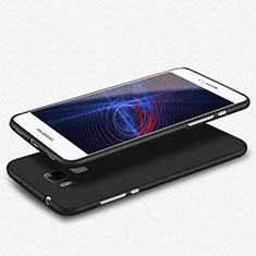 Huawei GX8用極薄ソフトケース シリコンケース 耐衝撃 全面保護 S02 ファーウェイ ブラック