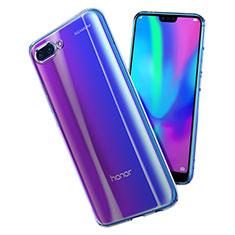 Huawei Honor 10用極薄ソフトケース シリコンケース 耐衝撃 全面保護 クリア透明 T02 ファーウェイ クリア