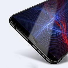 Huawei Honor 10用極薄ソフトケース シリコンケース 耐衝撃 全面保護 ファーウェイ ブラック