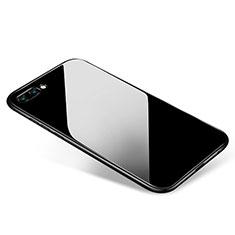 Huawei Honor 10用極薄ソフトケース シリコンケース 耐衝撃 全面保護 S02 ファーウェイ ブラック