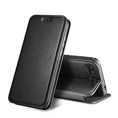 Huawei Honor 10用手帳型 レザーケース スタンド L01 ファーウェイ ブラック