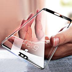 Huawei Honor 10用強化ガラス フル液晶保護フィルム F04 ファーウェイ ブラック