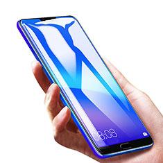 Huawei Honor 10用強化ガラス フル液晶保護フィルム F05 ファーウェイ ブラック