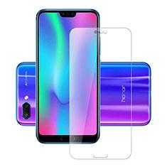 Huawei Honor 10用強化ガラス 液晶保護フィルム T02 ファーウェイ クリア
