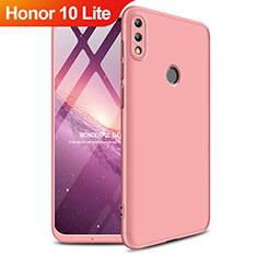 Huawei Honor 10 Lite用ハードケース プラスチック 質感もマット 前面と背面 360度 フルカバー ファーウェイ ローズゴールド