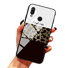 Huawei Honor 10 Lite用ハイブリットバンパーケース プラスチック パターン 鏡面 カバー ファーウェイ マルチカラー