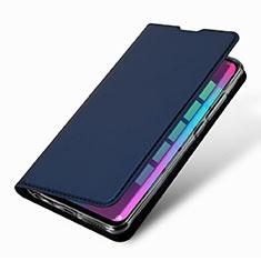 Huawei Honor 10 Lite用手帳型 レザーケース スタンド カバー L09 ファーウェイ ネイビー