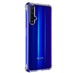 Huawei Honor 20用極薄ソフトケース シリコンケース 耐衝撃 全面保護 クリア透明 T02 ファーウェイ クリア