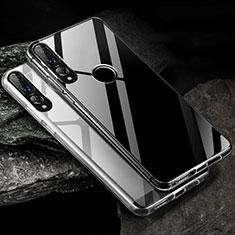 Huawei Honor 20 Lite用極薄ソフトケース シリコンケース 耐衝撃 全面保護 クリア透明 K01 ファーウェイ クリア