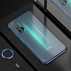 Huawei Honor 20 Pro用極薄ソフトケース シリコンケース 耐衝撃 全面保護 クリア透明 H01 ファーウェイ ネイビー