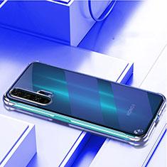 Huawei Honor 20 Pro用ハードカバー クリスタル クリア透明 H01 ファーウェイ ネイビー