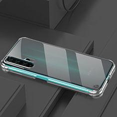 Huawei Honor 20 Pro用ハードカバー クリスタル クリア透明 H01 ファーウェイ ブラック