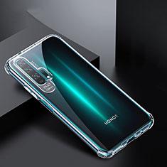 Huawei Honor 20 Pro用極薄ソフトケース シリコンケース 耐衝撃 全面保護 クリア透明 K02 ファーウェイ クリア