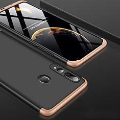 Huawei Honor 20i用ハードケース プラスチック 質感もマット 前面と背面 360度 フルカバー ファーウェイ ゴールド・ブラック