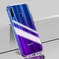 Huawei Honor 20i用極薄ソフトケース シリコンケース 耐衝撃 全面保護 クリア透明 K02 ファーウェイ クリア