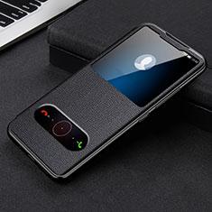 Huawei Honor 30用手帳型 レザーケース スタンド カバー L08 ファーウェイ ブラック