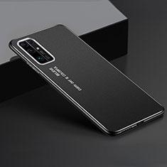 Huawei Honor 30用ケース 高級感 手触り良い アルミメタル 製の金属製 カバー ファーウェイ ブラック