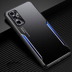 Huawei Honor 30用ケース 高級感 手触り良い アルミメタル 製の金属製 カバー M01 ファーウェイ ネイビー