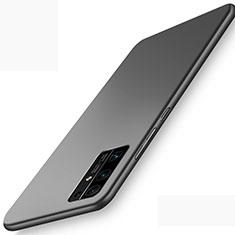 Huawei Honor 30用ハードケース プラスチック 質感もマット カバー M01 ファーウェイ ブラック