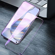 Huawei Honor 30用アンチグレア ブルーライト 強化ガラス 液晶保護フィルム ファーウェイ クリア