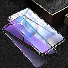 Huawei Honor 30用強化ガラス フル液晶保護フィルム アンチグレア ブルーライト ファーウェイ ブラック