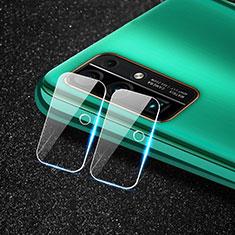 Huawei Honor 30用強化ガラス カメラプロテクター カメラレンズ 保護ガラスフイルム C01 ファーウェイ クリア
