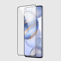 Huawei Honor 30用強化ガラス フル液晶保護フィルム F02 ファーウェイ ブラック