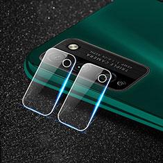 Huawei Honor 30 Lite 5G用強化ガラス カメラプロテクター カメラレンズ 保護ガラスフイルム ファーウェイ クリア