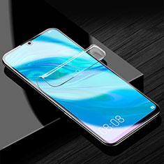 Huawei Honor 30 Lite 5G用高光沢 液晶保護フィルム フルカバレッジ画面 ファーウェイ クリア