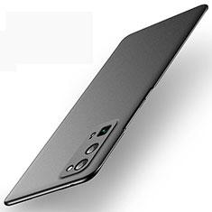 Huawei Honor 30 Pro用ハードケース プラスチック 質感もマット カバー M01 ファーウェイ ブラック