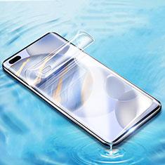 Huawei Honor 30 Pro用高光沢 液晶保護フィルム フルカバレッジ画面 ファーウェイ クリア