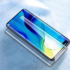 Huawei Honor 30 Pro用強化ガラス フル液晶保護フィルム F02 ファーウェイ ブラック