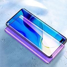 Huawei Honor 30 Pro用強化ガラス フル液晶保護フィルム アンチグレア ブルーライト ファーウェイ ブラック