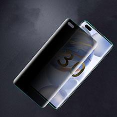 Huawei Honor 30 Pro用反スパイ 強化ガラス 液晶保護フィルム M01 ファーウェイ クリア