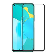Huawei Honor 30S用強化ガラス フル液晶保護フィルム ファーウェイ ブラック