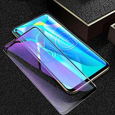 Huawei Honor 30S用強化ガラス フル液晶保護フィルム アンチグレア ブルーライト ファーウェイ ブラック