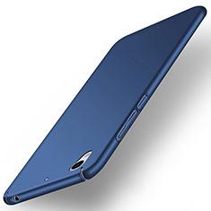 Huawei Honor 5A用ハードケース プラスチック 質感もマット ファーウェイ ネイビー