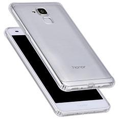Huawei Honor 5C用極薄ソフトケース シリコンケース 耐衝撃 全面保護 クリア透明 T05 ファーウェイ クリア